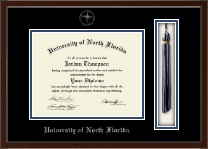 University of North Florida Diploma Frame - Tassel Edition Diploma Frame in Delta