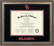 The University of Oklahoma Diploma Frame - Dimensions Diploma Frame in Easton