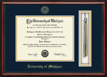 University of Michigan Diploma Frame - Tassel Edition Diploma Frame in Southport