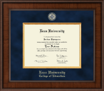 Kean University Diploma Frame - Presidential Masterpiece Diploma Frame in Madison