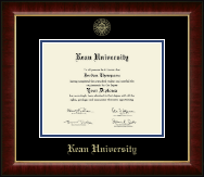 Kean University Diploma Frame - Gold Embossed Diploma Frame in Murano