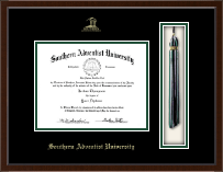 Southern Adventist University Diploma Frame - Tassel Edition Diploma Frame in Delta
