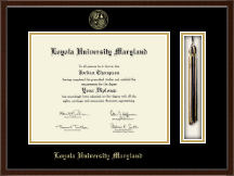 Loyola University Maryland Diploma Frame - Tassel Edition Diploma Frame in Delta