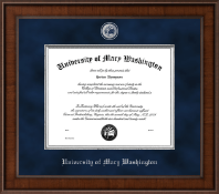 University of Mary Washington Diploma Frame - Presidential Masterpiece Diploma Frame in Madison