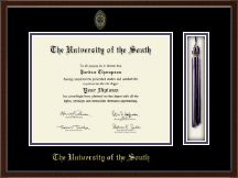 The University of the South Diploma Frame - Tassel Edition Diploma Frame in Delta