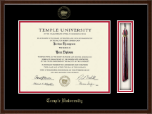 Temple University Diploma Frame - Tassel Edition Diploma Frame in Delta