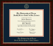 UT Health Science Center at San Antonio Diploma Frame - Gold Embossed Diploma Frame in Murano