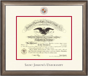 Saint Joseph's University in Pennsylvania Diploma Frame - Dimensions Diploma Frame in Easton
