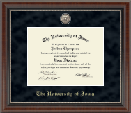 The University of Iowa Diploma Frame - Regal Edition Diploma Frame in Chateau
