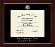 The University of Iowa Diploma Frame - Masterpiece Medallion Diploma Frame in Murano