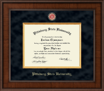 Pittsburg State University Diploma Frame - Presidential Masterpiece Diploma Frame in Madison