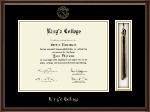 The King's College at Pennsylvania Diploma Frame - Tassel Edition Diploma Frame in Delta