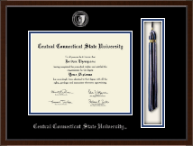 Central Connecticut State University Diploma Frame - Tassel Edition Diploma Frame in Delta