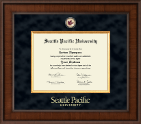 Seattle Pacific University Diploma Frame - Presidential Masterpiece Diploma Frame in Madison