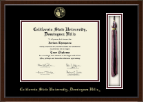California State University Dominguez Hills Diploma Frame - Tassel Edition Diploma Frame in Delta