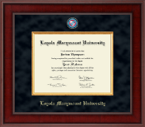 Loyola Marymount University Diploma Frame - Presidential Masterpiece Diploma Frame in Jefferson