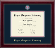 Loyola Marymount University Diploma Frame - Masterpiece Medallion Diploma Frame in Gallery