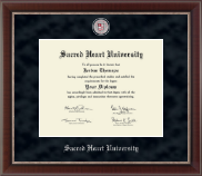 Sacred Heart University Diploma Frame - Regal Edition Diploma Frame in Chateau