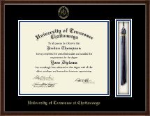 The University of Tennessee Chattanooga Diploma Frame - Tassel Edition Diploma Frame in Delta