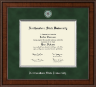 Northeastern State University Tahlequah Diploma Frame - Presidential Masterpiece Diploma Frame in Madison