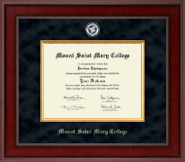 Mount Saint Mary College Diploma Frame - Presidential Masterpiece Diploma Frame in Jefferson
