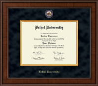 Bethel University Diploma Frame - Presidential Masterpiece Diploma Frame in Madison