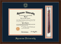 Syracuse University Diploma Frame - Tassel Edition Diploma Frame in Delta
