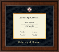 University of Montana Missoula Diploma Frame - Presidential Masterpiece Diploma Frame in Madison