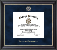 Gonzaga University Diploma Frame - Regal Edition Diploma Frame in Noir
