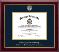 Gonzaga University Diploma Frame - Masterpiece Medallion Diploma Frame in Gallery