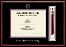 Iowa State University Diploma Frame - Tassel Edition Diploma Frame in Southport