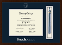 Baruch College Diploma Frame - Tassel Edition Diploma Frame in Delta