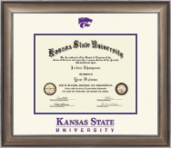 Kansas State University Diploma Frame - Dimensions Diploma Frame in Easton