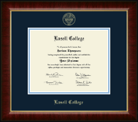 Lasell College Diploma Frame - Gold Embossed Diploma Frame in Murano