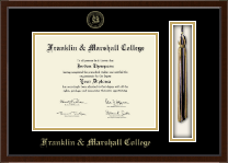 Franklin & Marshall College Diploma Frame - Tassel Edition Diploma Frame in Omega