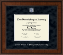 Notre Dame of Maryland University  Diploma Frame - Presidential Masterpiece Diploma Frame in Madison