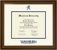 Washburn University Diploma Frame - Dimensions Diploma Frame in Westwood