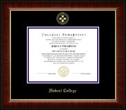 Hobart College Diploma Frame - Gold Embossed Diploma Frame in Murano