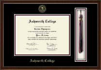 Ashworth College Diploma Frame - Tassel Edition Diploma Frame in Delta
