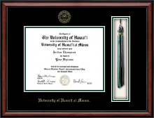 University of Hawaii at Manoa Diploma Frame - Tassel Edition Diploma Frame in Southport