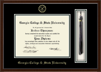 Georgia College & State University Diploma Frame - Tassel Edition Diploma Frame in Delta