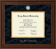 Long Island University Post Diploma Frame - Presidential Masterpiece Diploma Frame in Madison