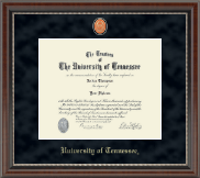 The University of Tennessee Knoxville Diploma Frame - Regal Edition Diploma Frame in Chateau