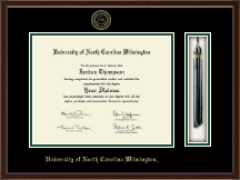 University of North Carolina Wilmington Diploma Frame - Tassel Edition Diploma Frame in Delta