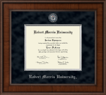 Robert Morris University in Pennsylvania Diploma Frame - Presidential Masterpiece Diploma Frame in Madison
