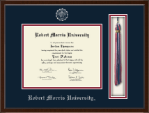 Robert Morris University in Pennsylvania Diploma Frame - Tassel Edition Diploma Frame in Delta
