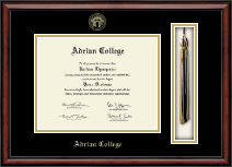 Adrian College Diploma Frame - Tassel Edition Diploma Frame in Southport