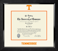 The University of Tennessee Knoxville Diploma Frame - Dimensions Diploma Frame in Eclipse
