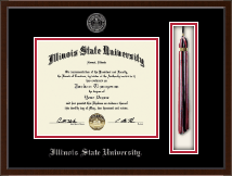 Illinois State University Diploma Frame - Tassel Edition Diploma Frame in Delta