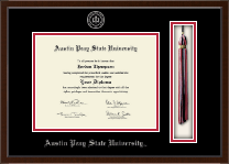 Austin Peay State University Diploma Frame - Tassel Edition Diploma Frame in Delta